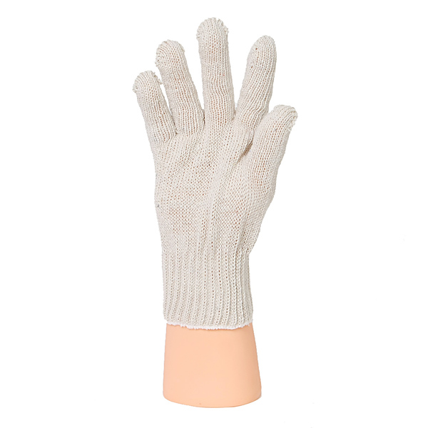 Перчатки ХБ 7,5 класса 8 нитка (без ПВХ) фото