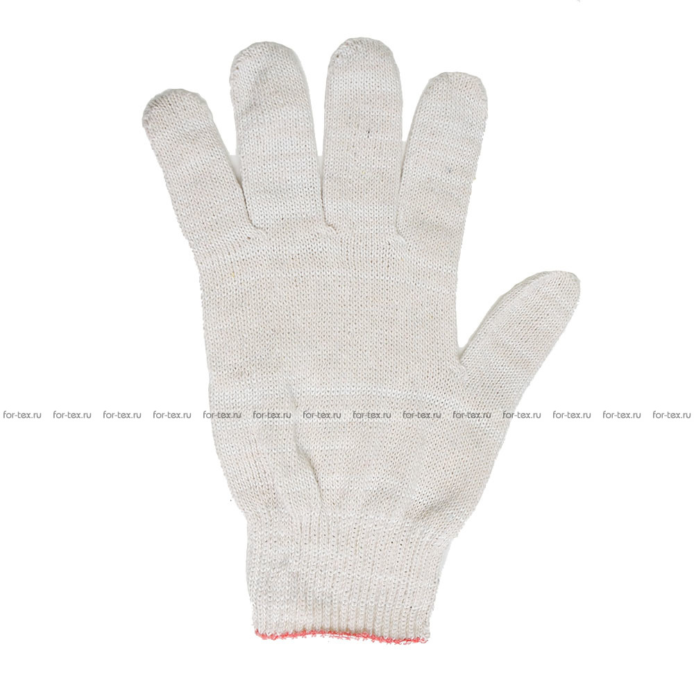 Перчатки ХБ 2-ой сорт (без ПВХ) фото