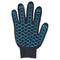 Перчатки ХБ 10 класс 4 нитка с ПВХ (волна)