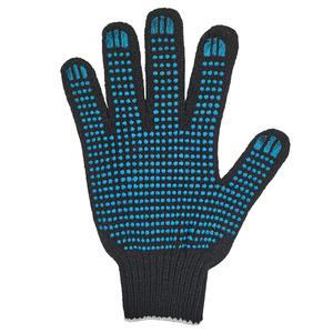 Перчатки ХБ 7,5 класса 5 нитка с ПВХ (точка)