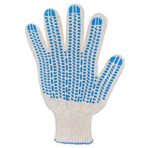 Перчатки ХБ 7,5 класса 6 нитка с ПВХ (протектор)