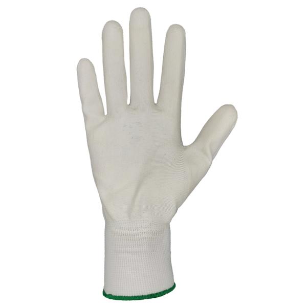 Перчатки нейлоновые с полиуретановым покрытием фото