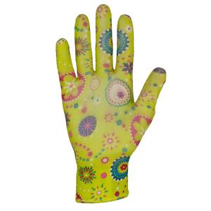 Перчатки нейлоновые садовые с нитриловым покрытием