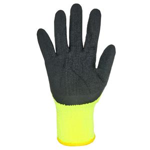 Перчатки акриловые со вспененным латексным покрытием