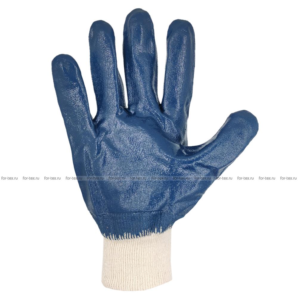 Перчатки нитриловые «Манжет полный облив» фото