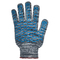 Перчатки ХБ 10 класс 5 нитка с ПВХ (волна)