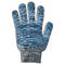 Перчатки ХБ 10 класс 7 нитка с ПВХ (волна)