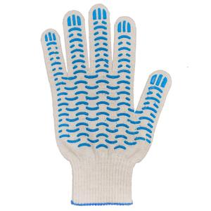 Перчатки ХБ 13 класс с ПВХ Волна