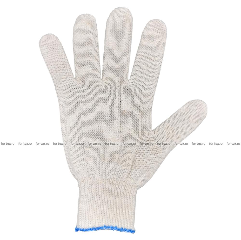 Перчатки ХБ 10 класс 3 нитка (без ПВХ) эконом фото