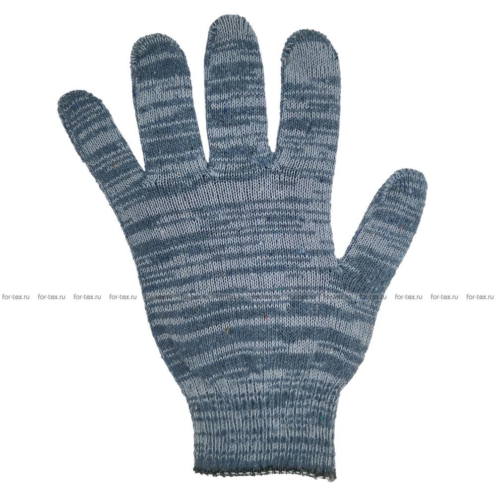 Перчатки ХБ 10 класс 4 нитка (без ПВХ) фото