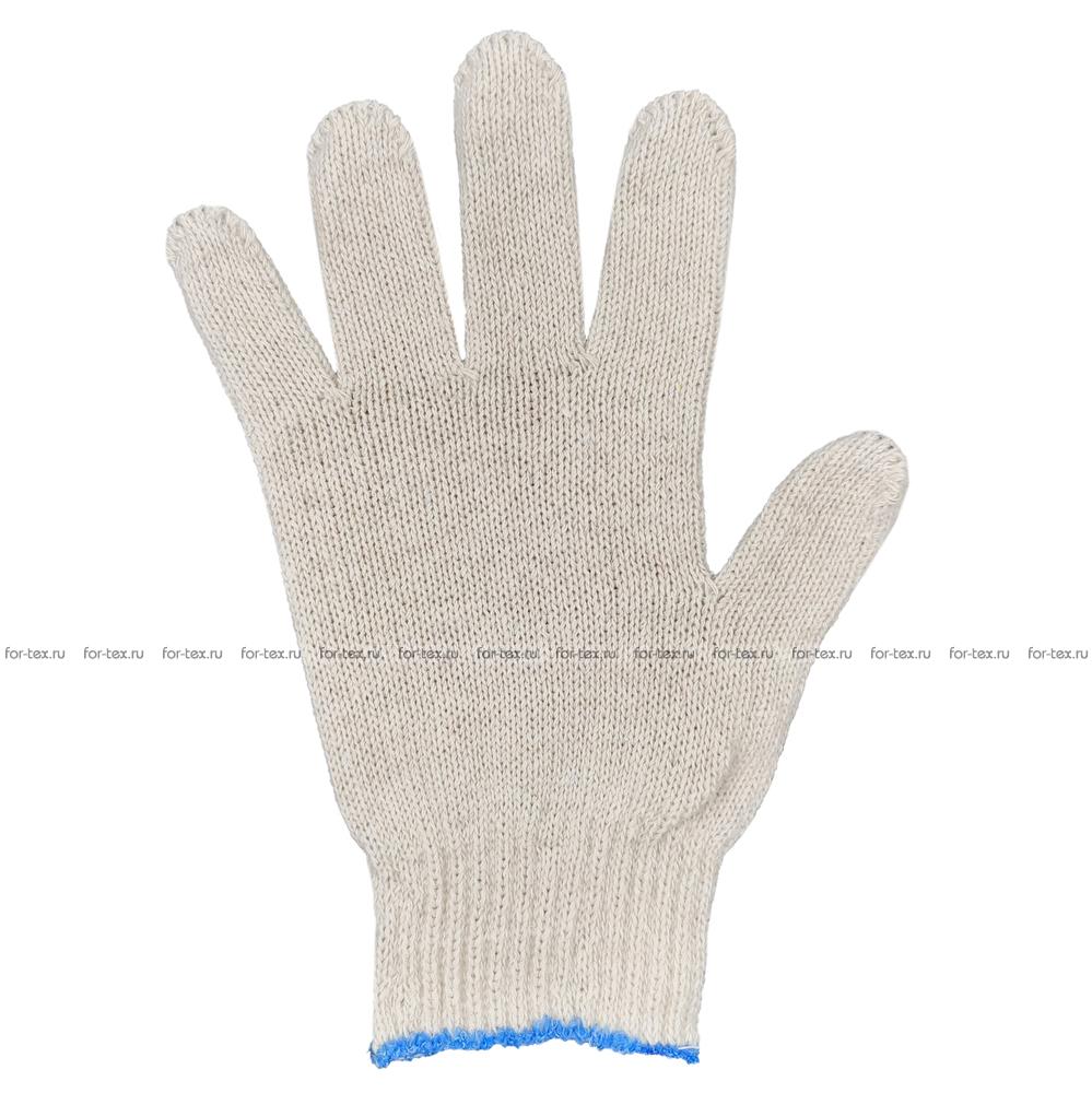 Перчатки ХБ 7,5 класса 6 нитка (без ПВХ) фото