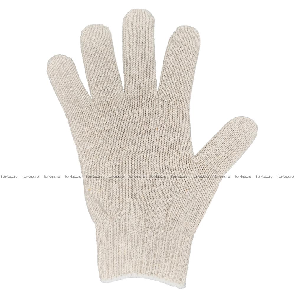 Перчатки ХБ 7,5 класса 5 нитка (без ПВХ) фото