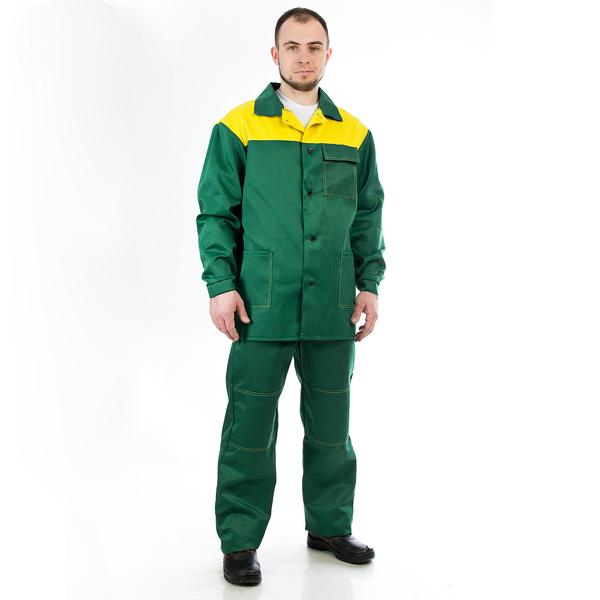 Костюм Стандарт-1 (зеленый/желтый) фото