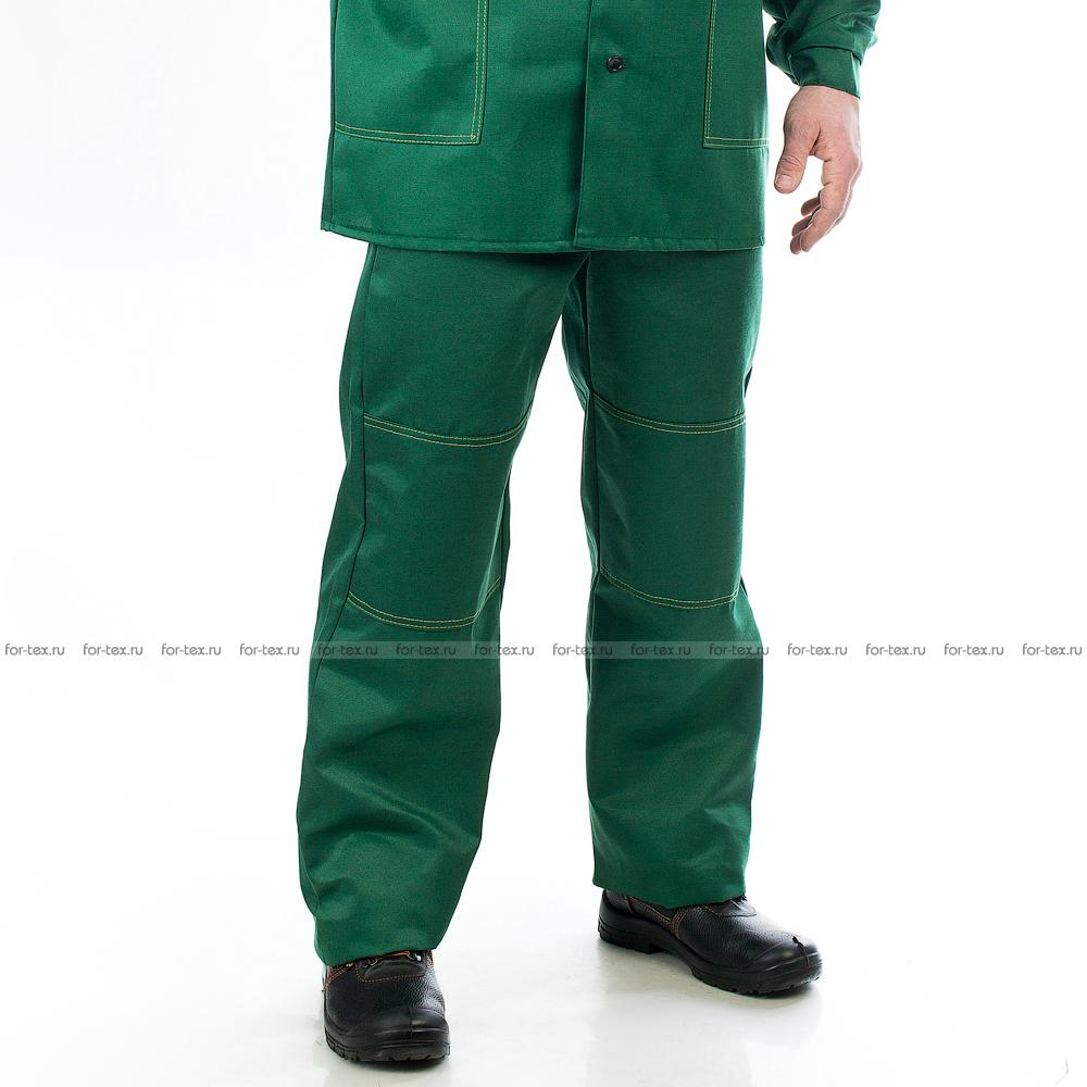 Костюм рабочий-1 (зеленый/желтый) фото
