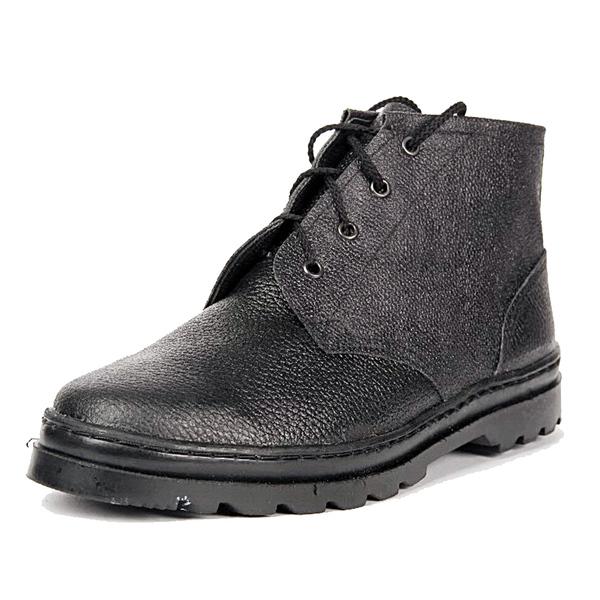 Ботинки рабочие простые (хром) фото