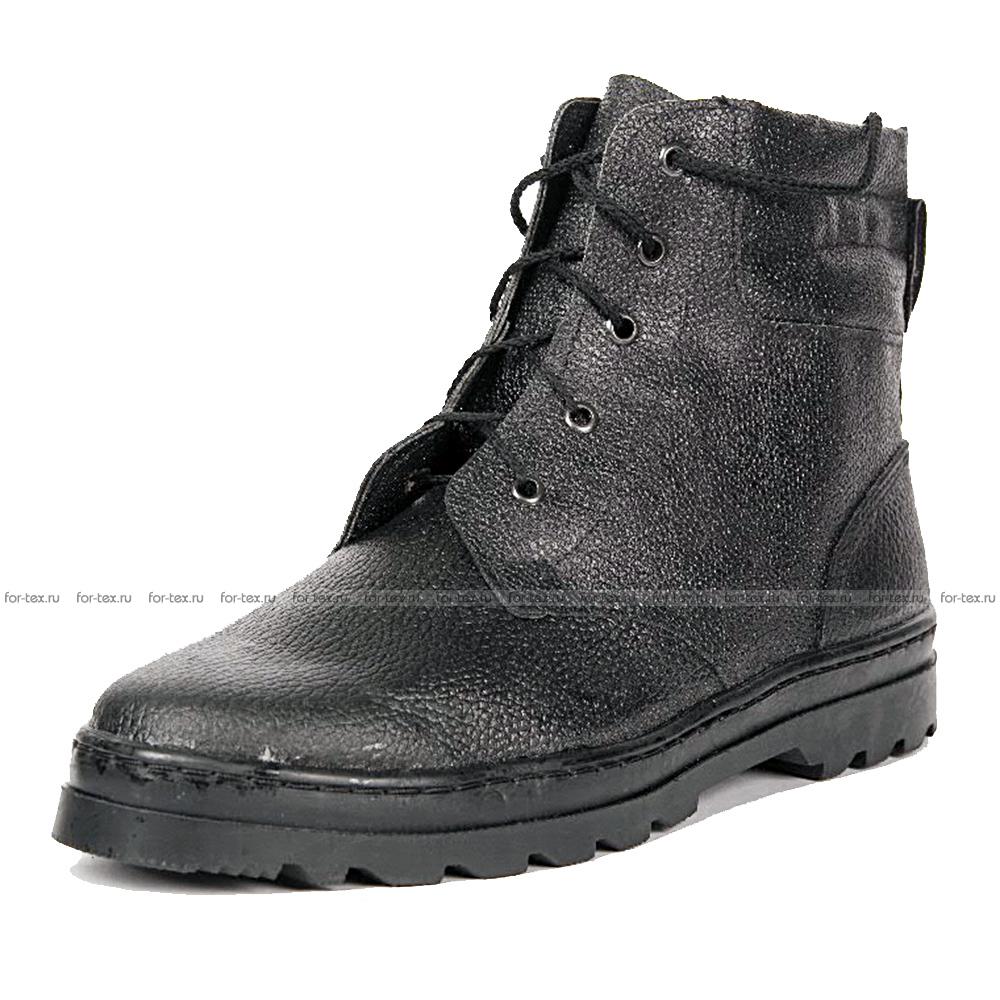 Ботинки «ПИЛОТ» юфть, ИМ, высота 18 см фото