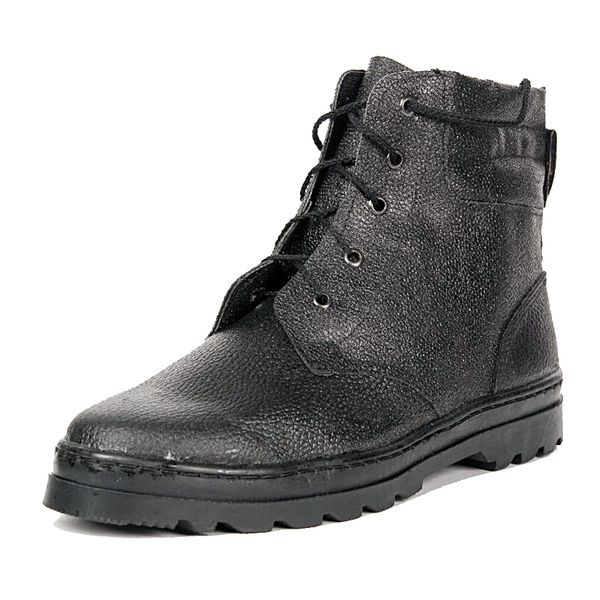 Ботинки «ПИЛОТ» хром, ИМ, высота 18 см (кожа «Тулип») фото
