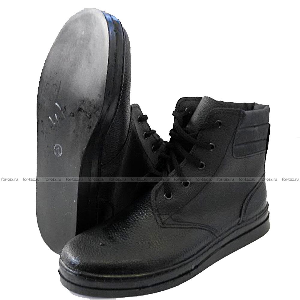 Ботинки «ПИЛОТ» юфть/кирза, АСФ фото