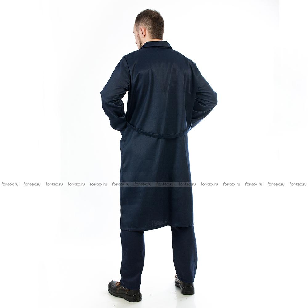 Халат рабочий мужской фото