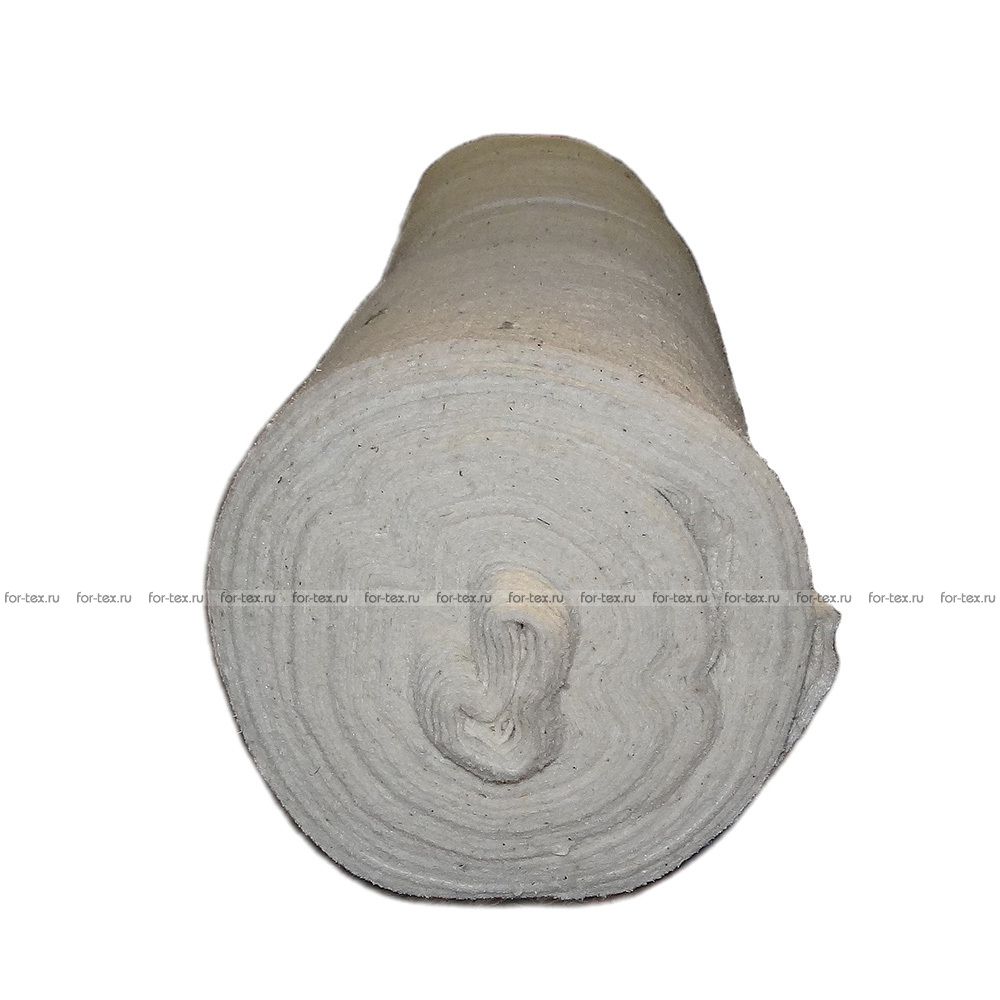 Холстопрошивное полотно белое 2,5 - 80 см 190 г/м² фото