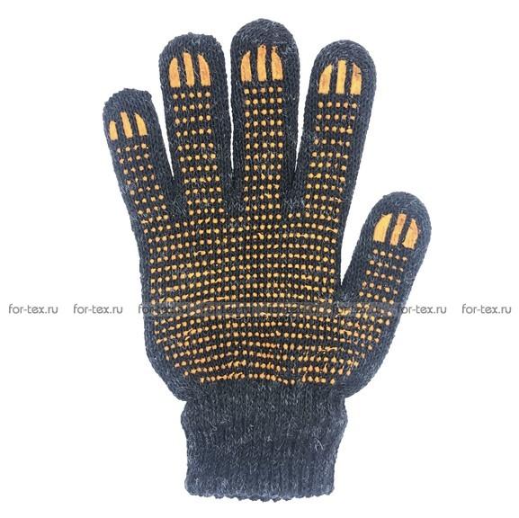 Перчатки рабочие ПШ 7,5 класса 5 нитка (Зимние двойные) фото