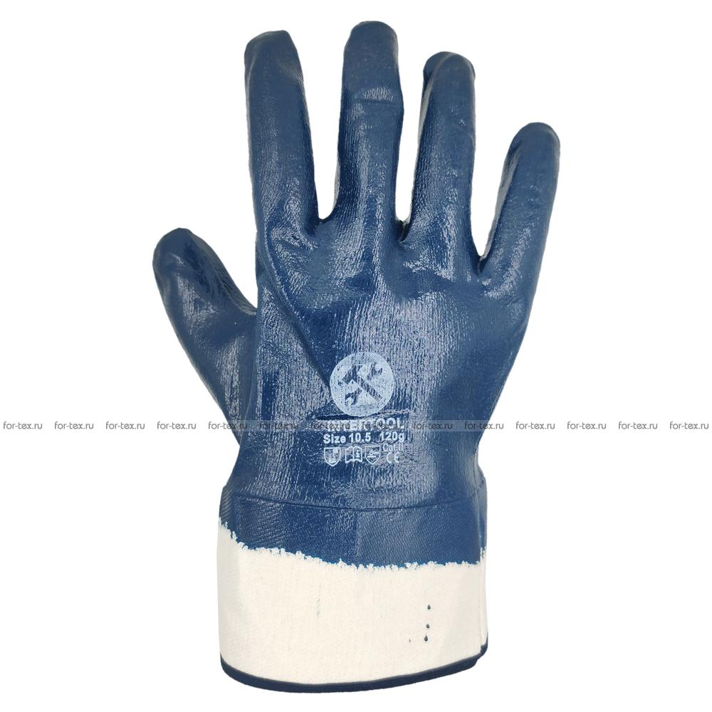 Перчатки нитриловые «Краги полный облив» фото